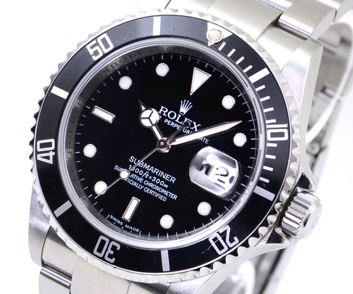 Rolex Oyster Perpetual Submariner Date 16610 © uhrenlieferant