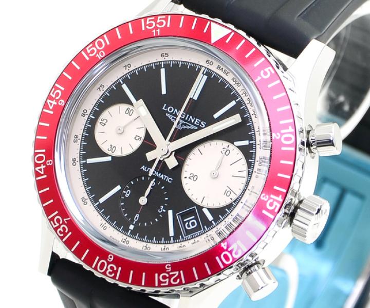 LONGINES Heritage Diver 1967 Chronograph L2.808.4.52.9 © uhrenlieferant